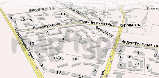 Карта Шарыпово Навител