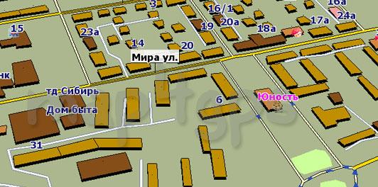 Карта Шелехов GisRX