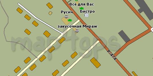 Карта Сокоч GisRX