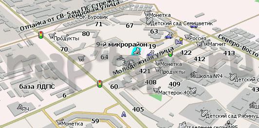 Карта Стрежевой Навител