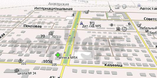 Карта Тайга Навител