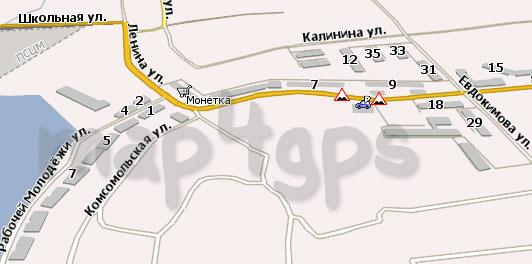 Карта Верх-Нейвинск Навител