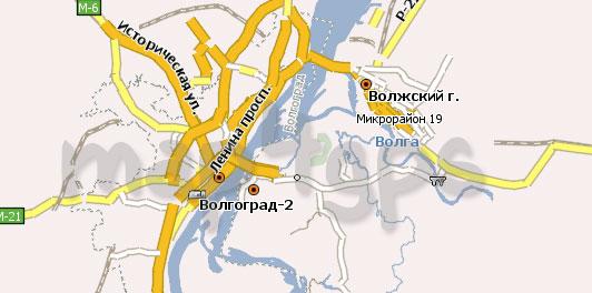 Карта Волгоградская область Навител