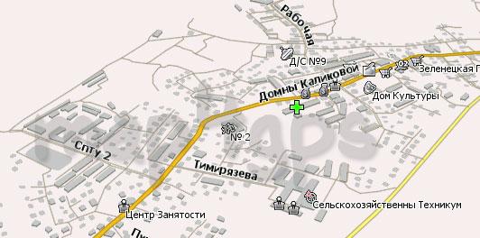 Карта Выльгорт Навител