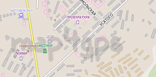 Карта Фокино City Guide