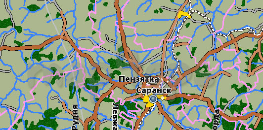 Карта Мордовия GisRX
