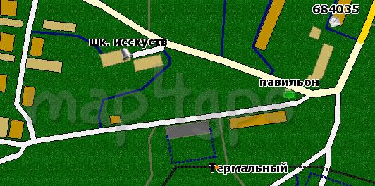 Карта Термального GisRX